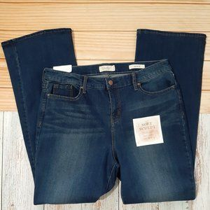 Jessica Simpson Mid Rise Boot Jeans Size 16